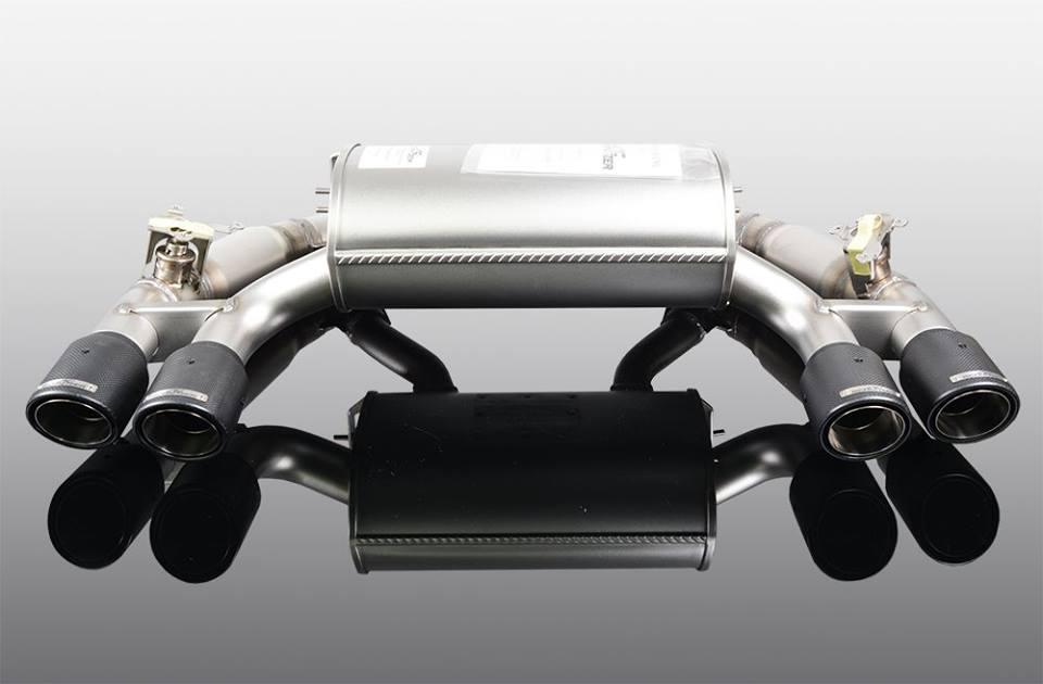 AC SchnitzerF87/M2Competition リアマフラー スポーツテールブラック