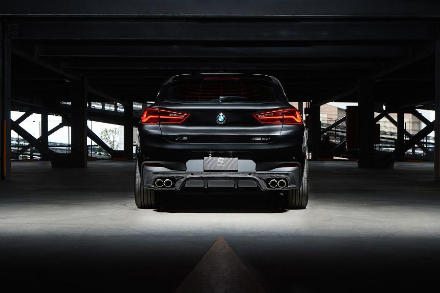 3D Designカーボンリアディフューザーfor BMWF39 X2 M-Sport X