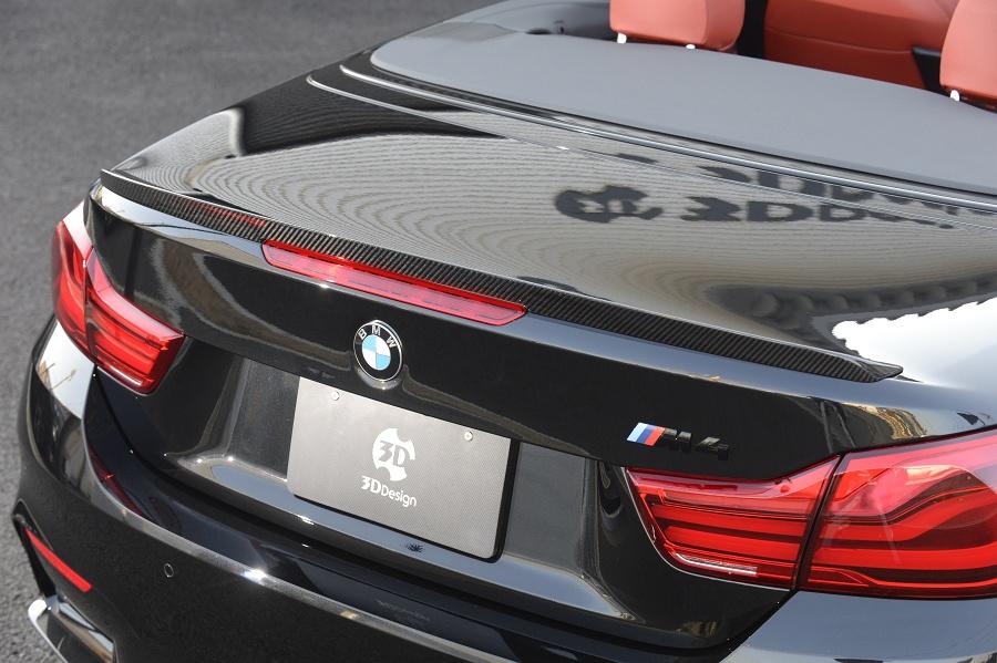 3D Designカーボントランクスポイラーfor BMW F83/M4