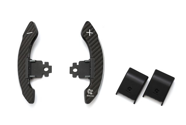 3D Paddle Shifter Carbom シルバー G系 パドル車全般