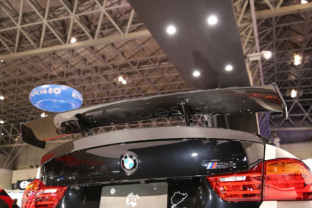 3D DesignレーシングリアウィングFor BMW F80