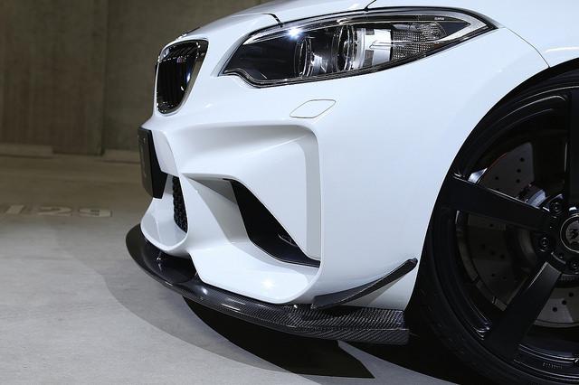 3D Design カナード for BMW F87 M2