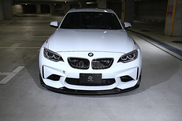 3D Design フロントリップスポイラー for BMW F87 M2