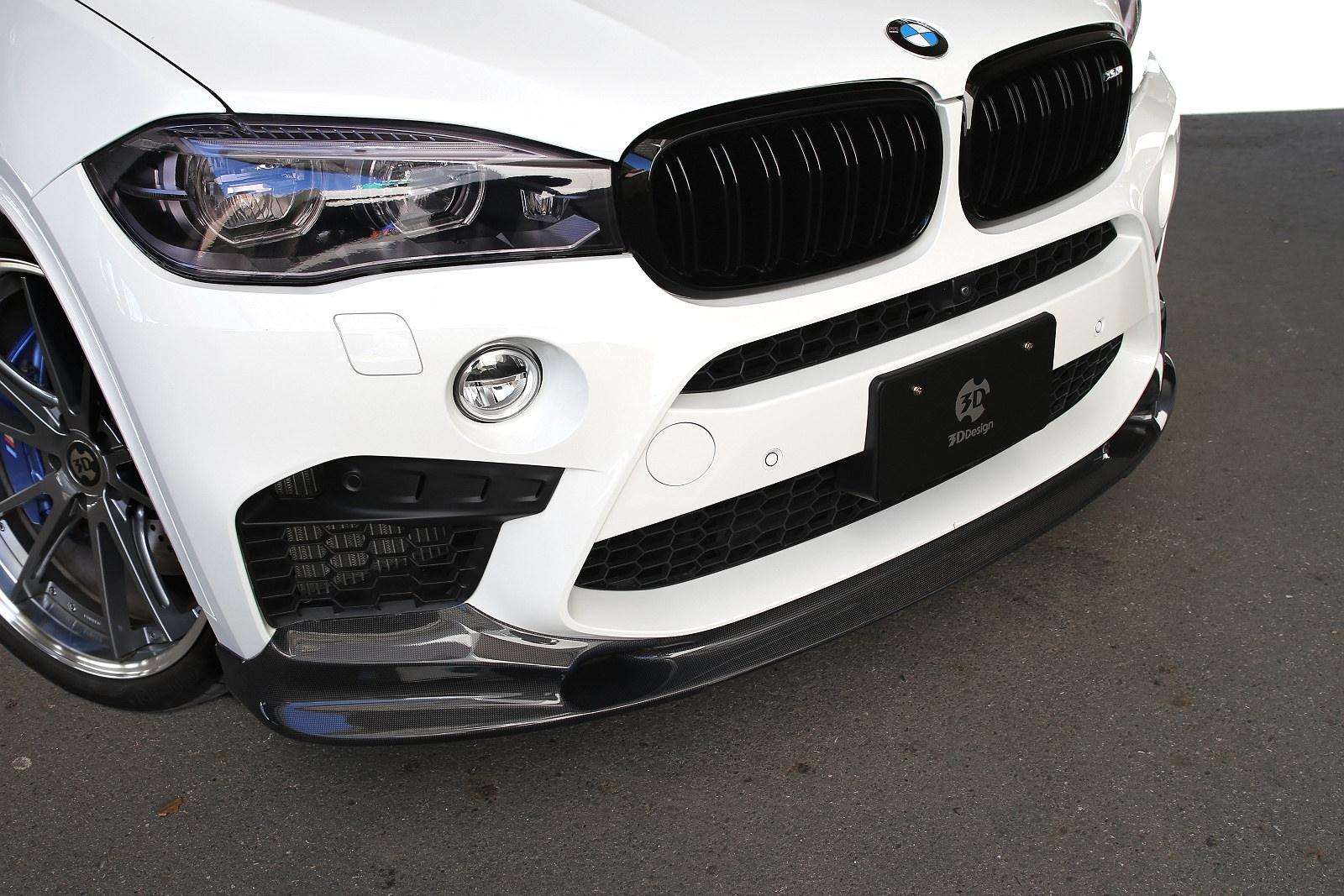 3D Designカーボンリップスポイラー for BMW F80 X5M