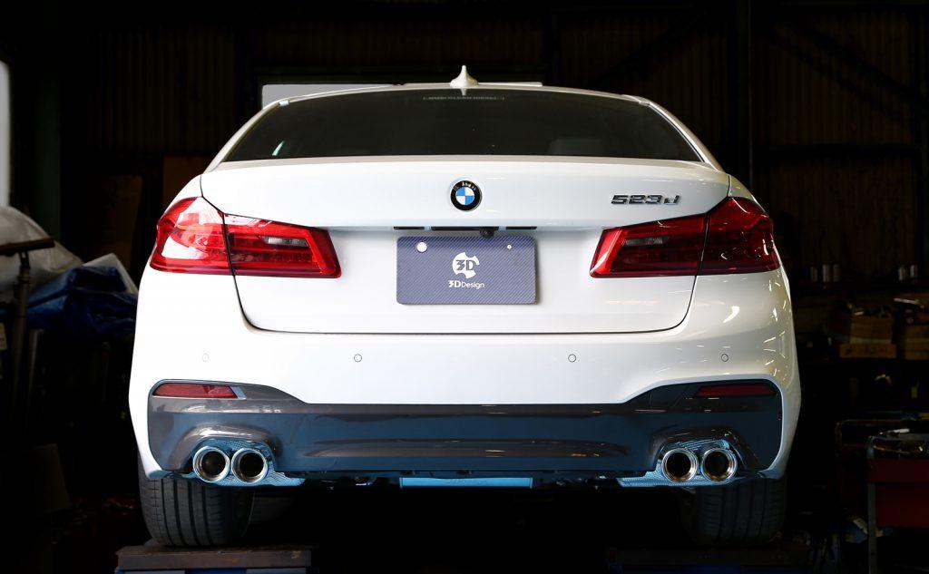 3D Designエギゾーストシステムfor BMW G30/G31 540i / B58
