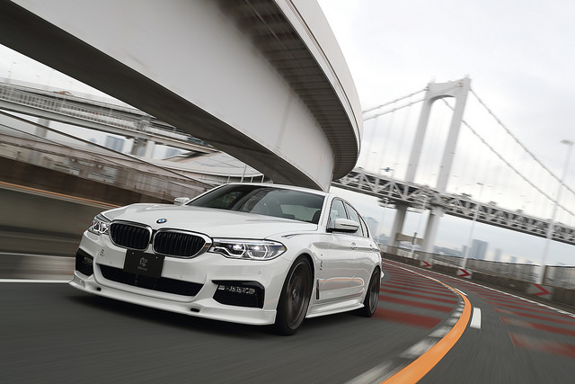 3D Designフロントリップスポイラー for BMW G30/G31 M-SPORT