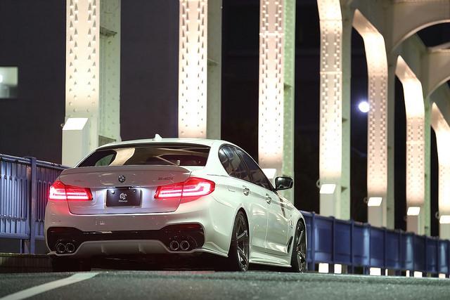 3D Designトランクスポイラーfor BMW G30