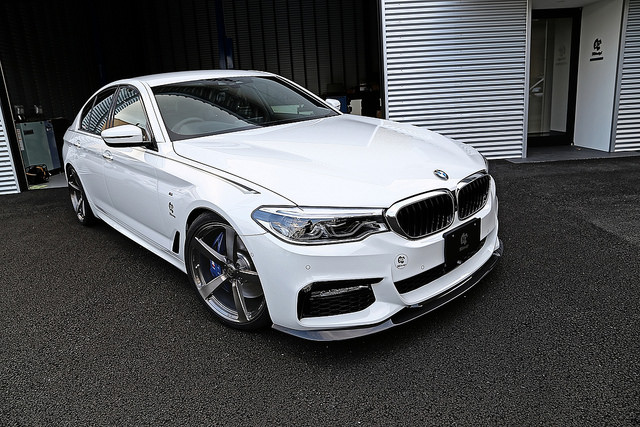 3D Designフロントカーボンリップスポイラー for BMW G30/G31 M-SPORT