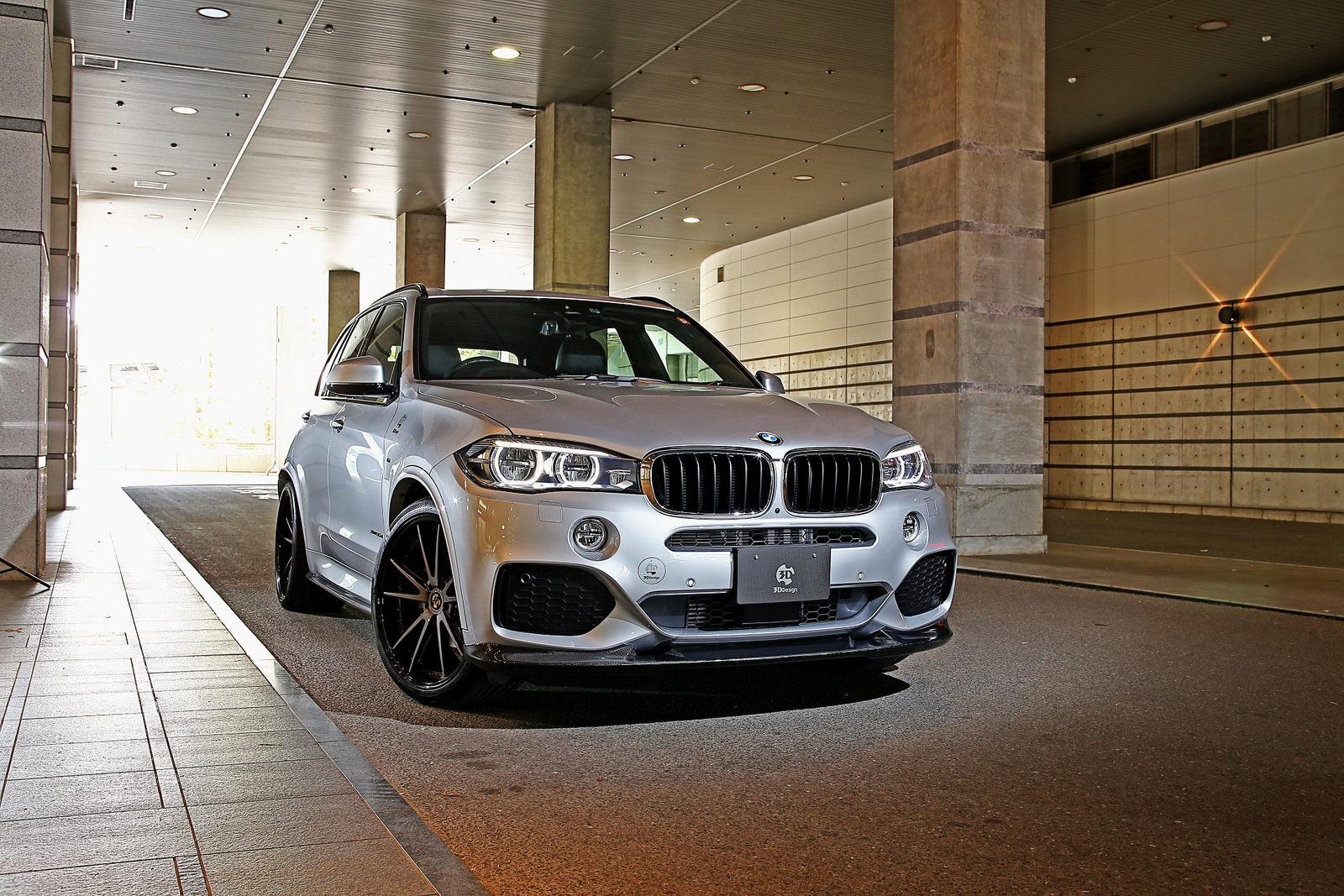 3D Designカーボンリップスポイラー for BMW F15 X5 M-Sport