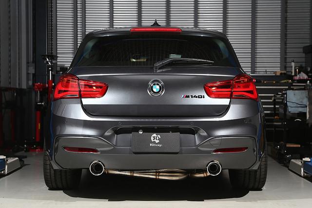 3D Designエギゾーストシステムfor BMW F20 140i/B58