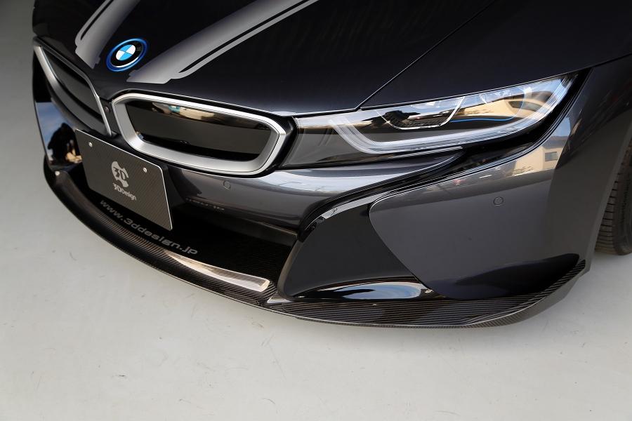 3D Designカーボンリップスポイラー for BMW I12 i8