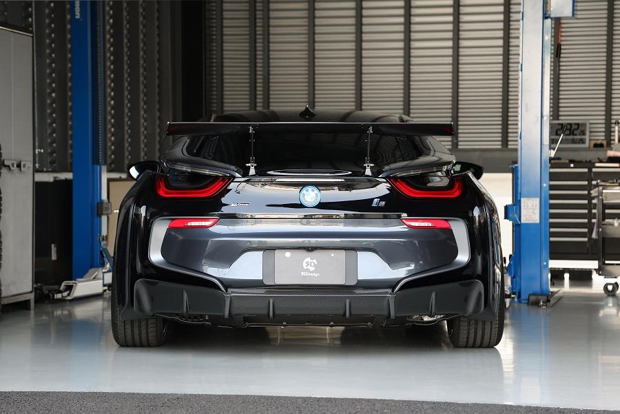 3D Designカーボンリアディフューザーfor BMW I12 i8
