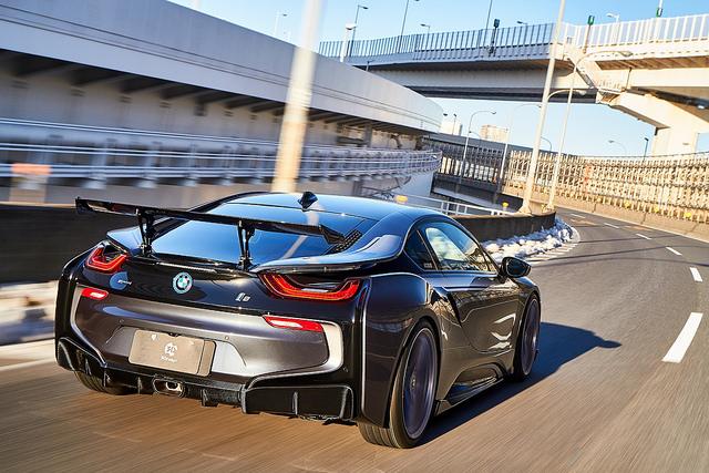 3D Designレーシングウィング for BMW I12 i8