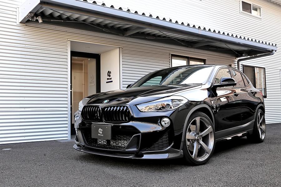 3D Designカーボンリップスポイラー for BMW F39 X2 M35i