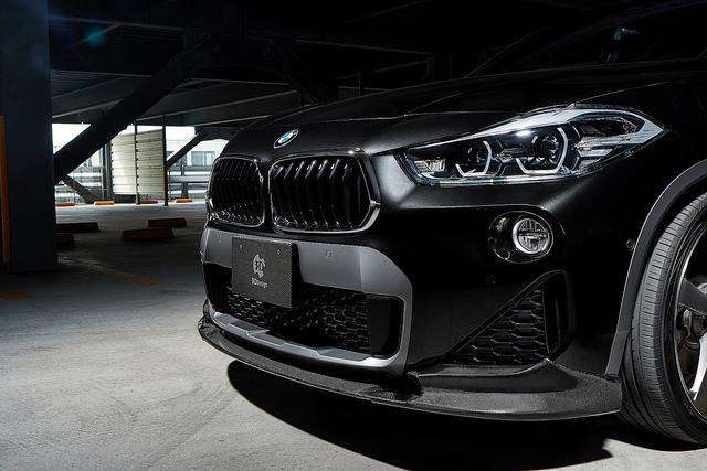 3D Designカーボンリップスポイラー for BMW F39 X2 M-SportX