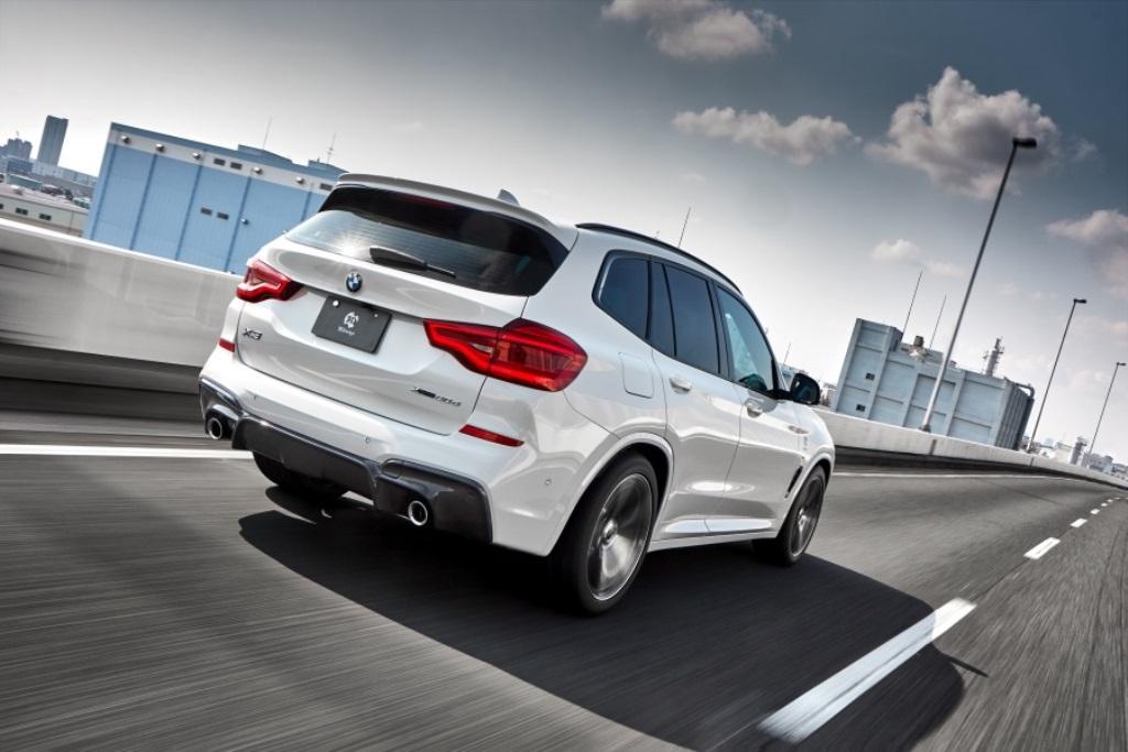 3D Design ルーフスポイラー for BMW G01 X3