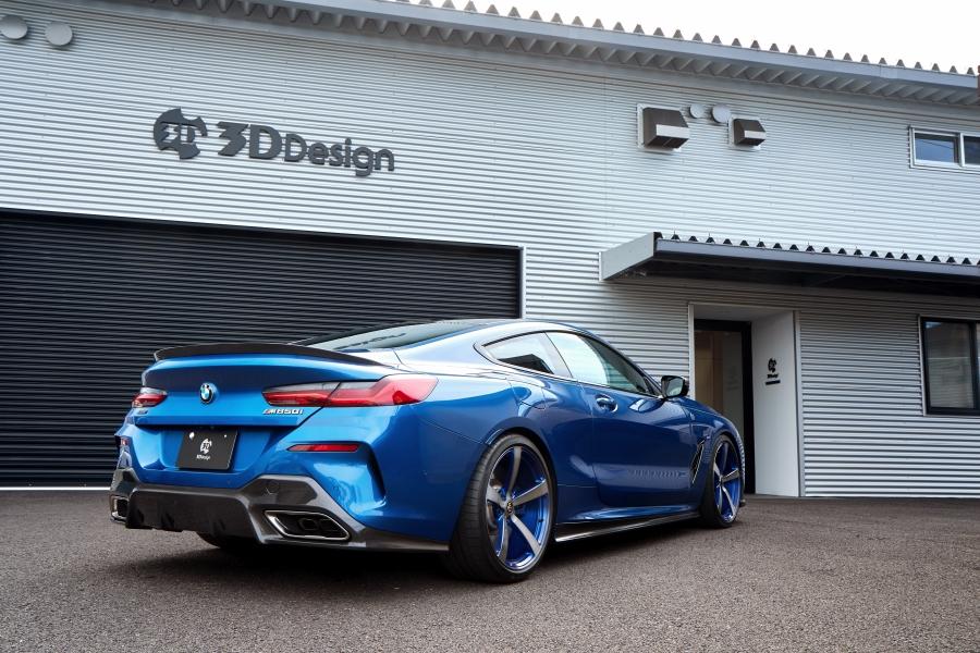3D Design トランクスポイラー for BMW G15 8シリーズクーペ