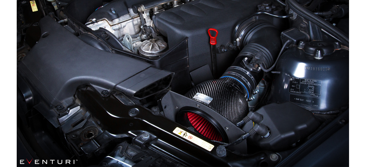Eventuri Intake System Bmw E46 M3 Black Carbon