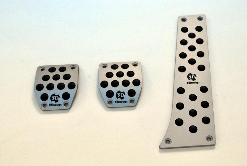 3D Design for BMW MT左ハンドル用アルミペダル