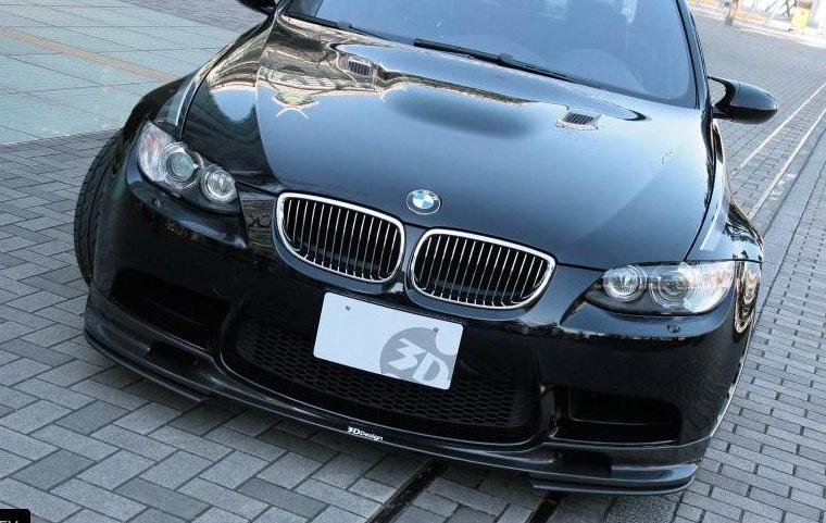 3D Designフロントリップアンダーフリッパーfor BMW E90&E92 M3