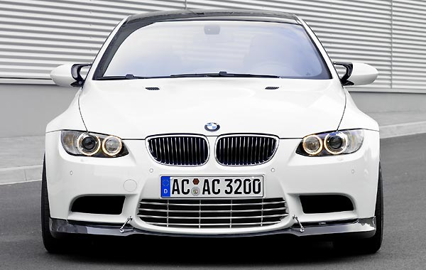 AC SCHNITZERカーボンフロントスポイラーFor BMW E92 M3☆