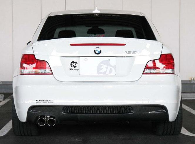 3D Designカーボンリアディフューザーfor BMW E82