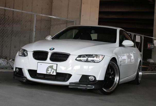 3D Designカーボンフロントフリッパーfor BMW E92&E93 M-Spo用