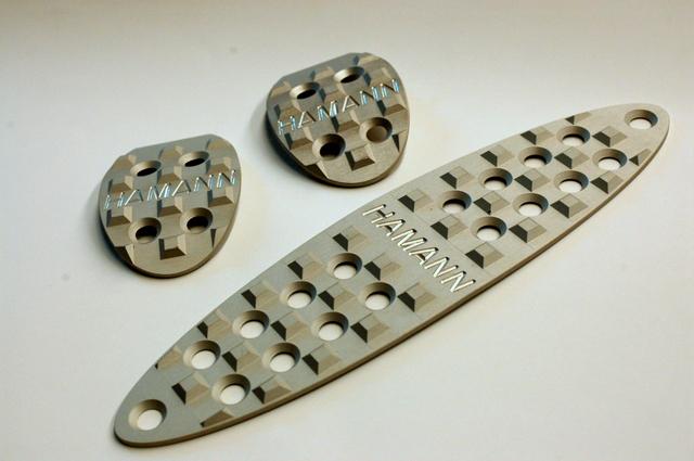 HAMANN製 MT用アルミペダルセットBMW MINI用
