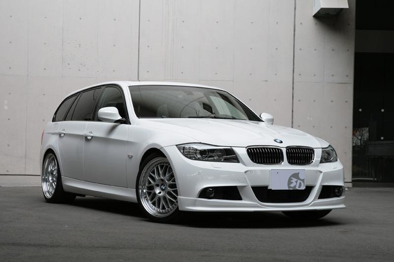 3D Designフロントリップスポイラー for BMW E90/E91 Lci