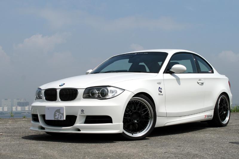 3D Designフロントリップスポイラー for BMW E82
