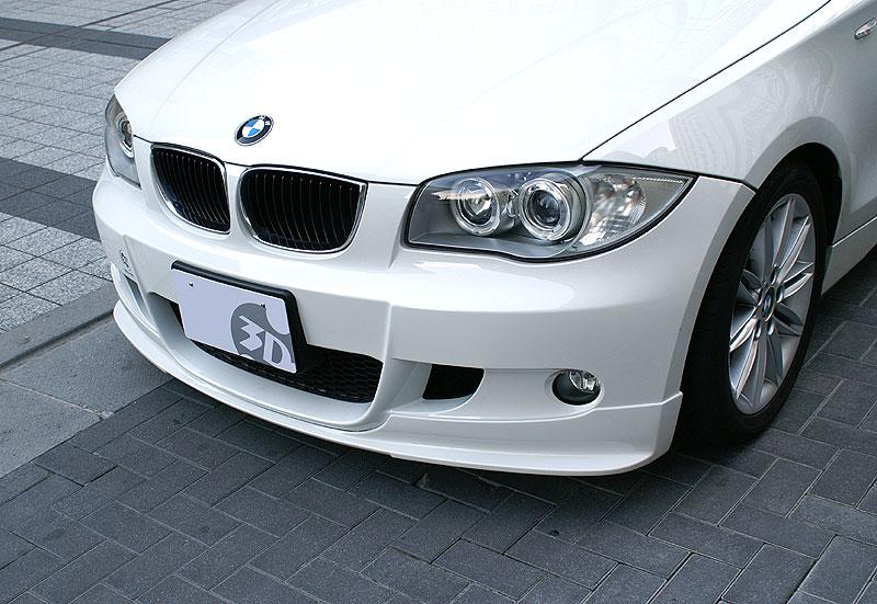 3D Designフロントリップスポイラー for BMW E87 M-SPORT