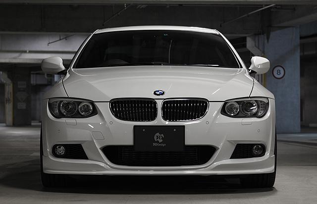 3D Designフロントリップスポイラー for BMW E92/E93 Lci    M-SPORT