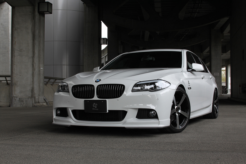 3D Designフロントリップスポイラー for BMW F10/F11 M-Sport