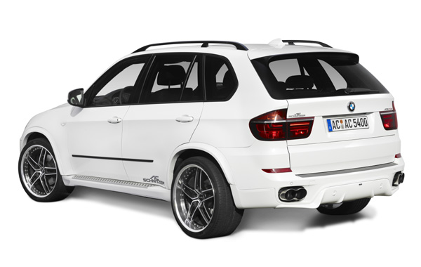 AC SCHNITZERリアスカートFor BMW E70LCIモデル(3/'10-) M-Sport除く