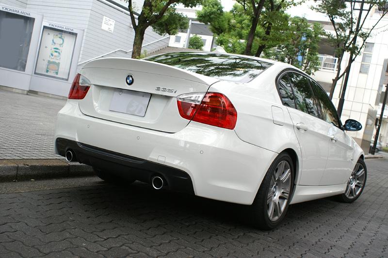 3D Designトランクスポイラーfor BMW E90 3シリーズ
