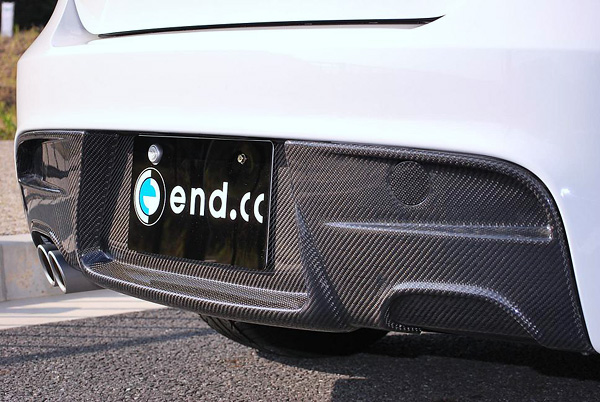 end.ccカーボンリアディフューザーBMW E87 M-Sport 2テール