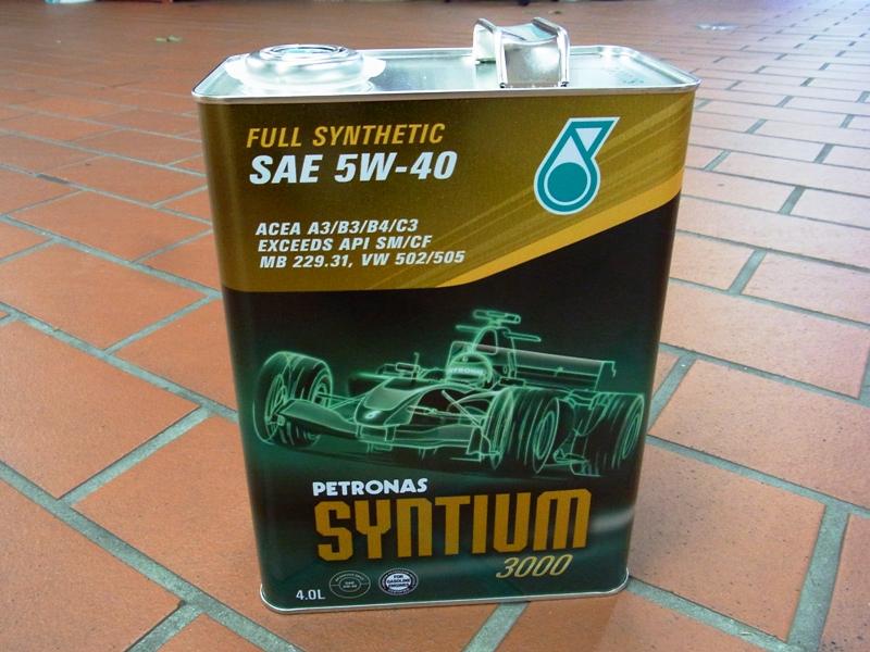 PETRONAS OIL SYNTIUM RACER 3000 5W-40 4L