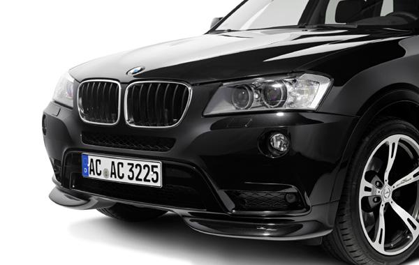 AC SCHNITZERフロントスポイラーFor BMW F25 X3M-Sport除く