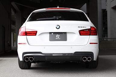 3D Designエギゾーストシステムfor BMW F11 535I
