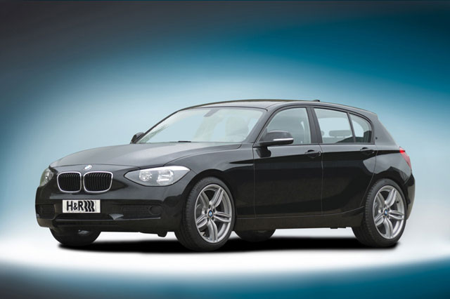 H&R製ローダウンスプリングfor BMW F20 1シリーズ