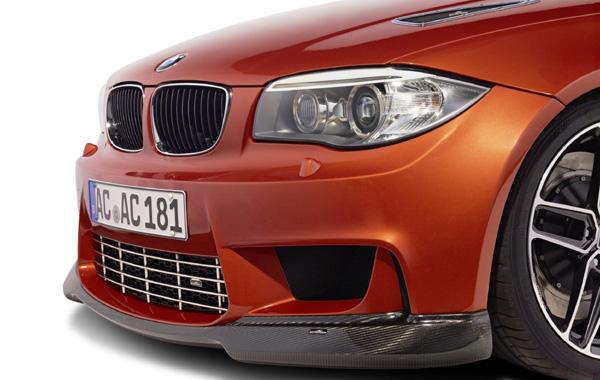 AC SCHNITZERカーボンフロントスポイラーFor BMW E82 1series Mcoupe