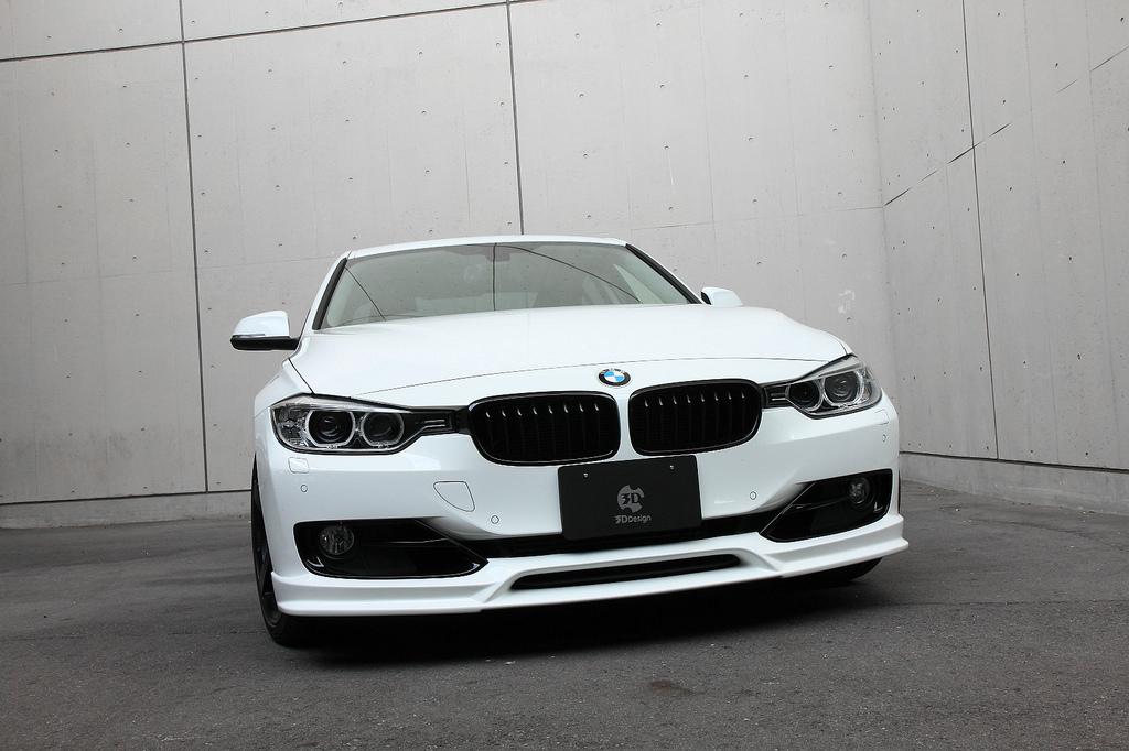 3D Designフロントリップスポイラー for BMW F30 M-SPORTを除く