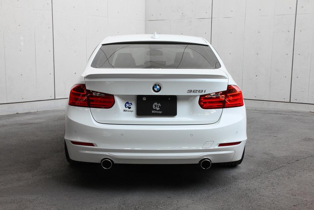3D Designトランクスポイラーfor BMW F30