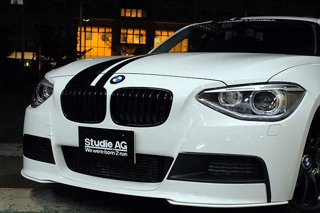 BMW M Perfomance ブラックグリルfor F20