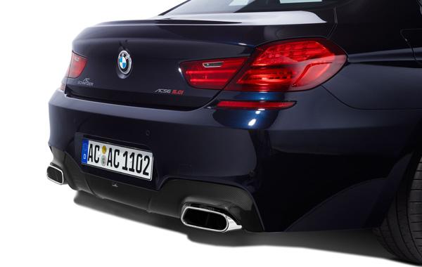 AC SCHNITZERカーボンリアディフューザーFor BMW F12/F13 F06M-SPORT