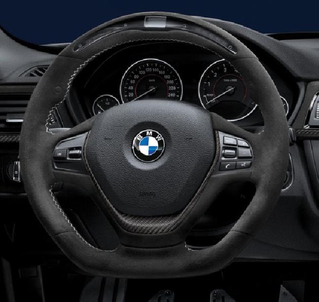 BMW M Performanceディスプレイステアリング For BMW F20/F30パドル無車両用