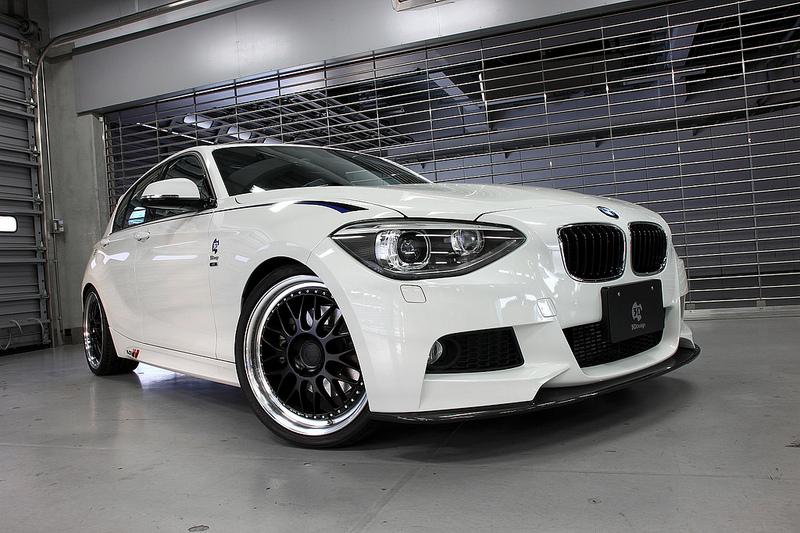 3D Designフロントカーボンリップスポイラー for BMW F20 M-SPORT