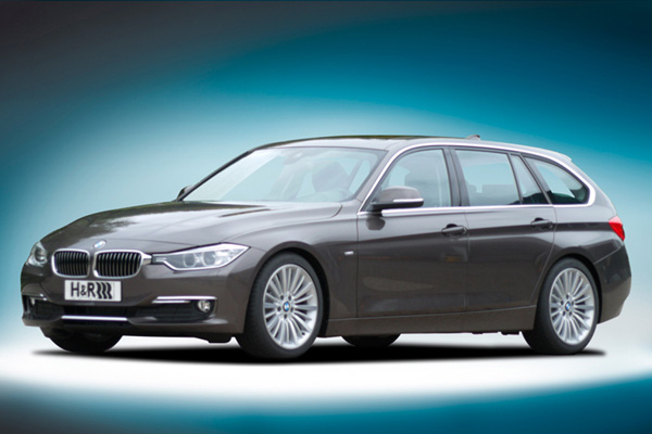 H&R ローダウンスプリング for BMW F31 320i X-Drive