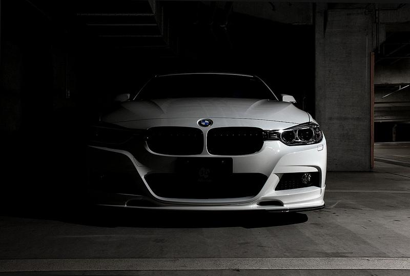 3D Designフロントリップスポイラー for BMW F30/F31 M-SPORT