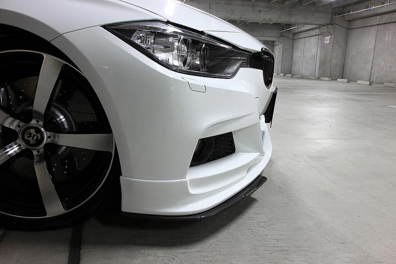 3D Designアンダーフリッパーfor BMW F30/F31 M-SPORT